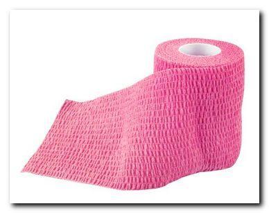 Pferdebandagen Bandage Bandagen elastisch 5m x 7,5cm pink